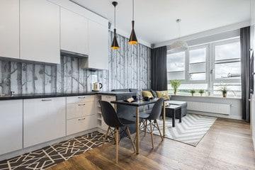 Flooring for Small Kitchen Interior
