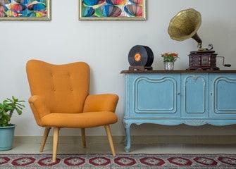 Mix of Vintage and Modern Interior Design