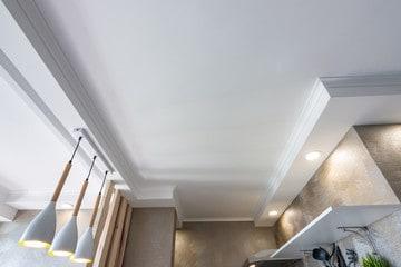 Crispy White Ceiling Interior Design