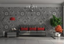 Tiles Wall Painting Design Ideas