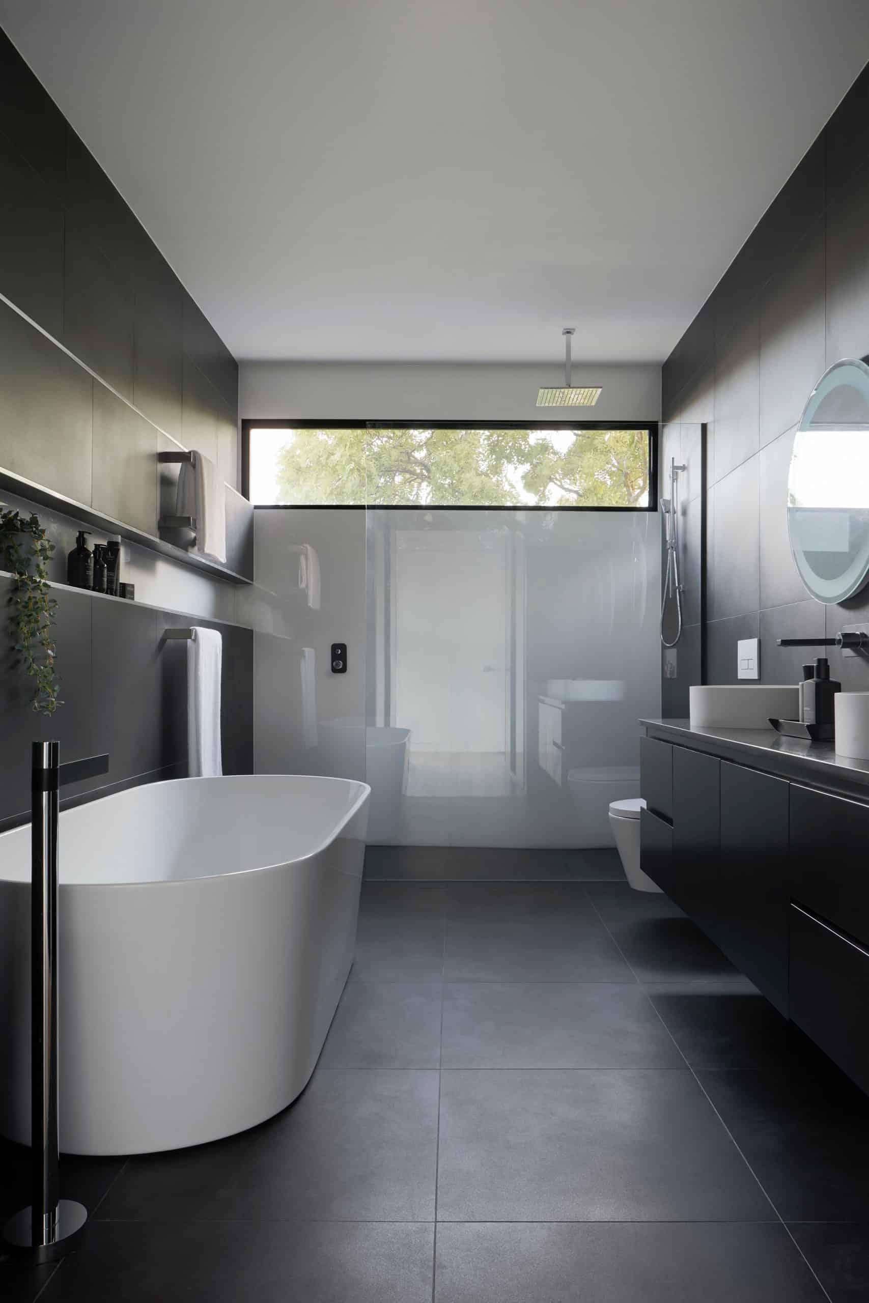 Grey Modular Sleek Shower