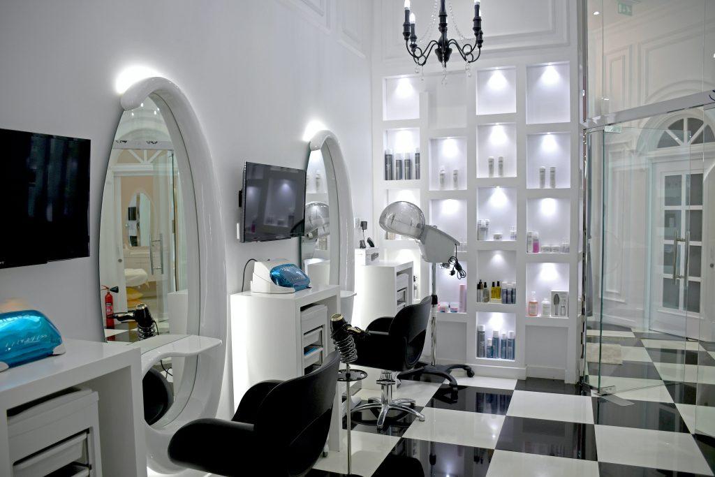 Salon design detailing