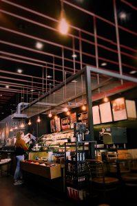 Lighting in cafes