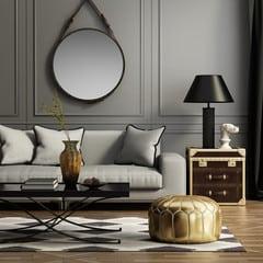 Chic living area
