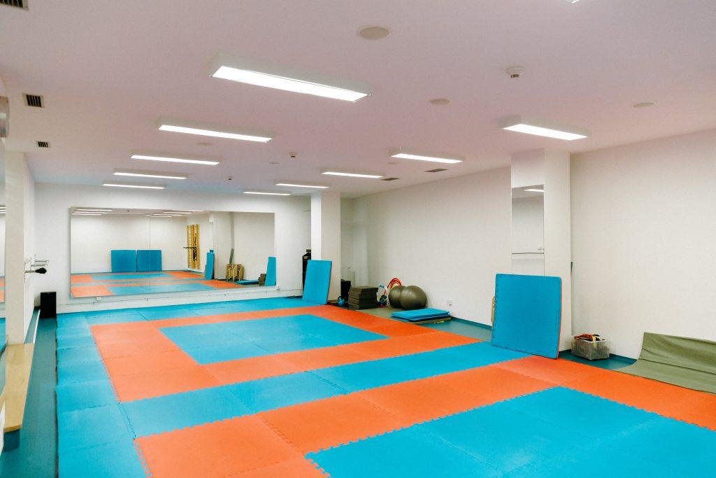 Vibrant gym colour