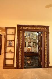 Traditional Pooja Room Interior Design
