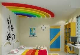 False Ceiling Interior Design in Kids Room
