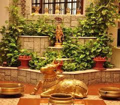 Plants in Pooja Room Ideas