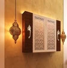 Wall Mounted Mandir design