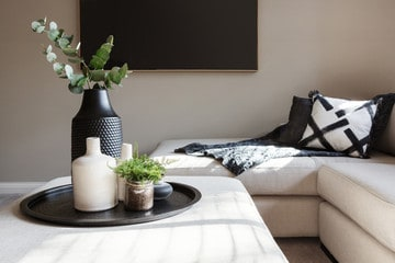 Greenery in Minimalism in Interior Design
