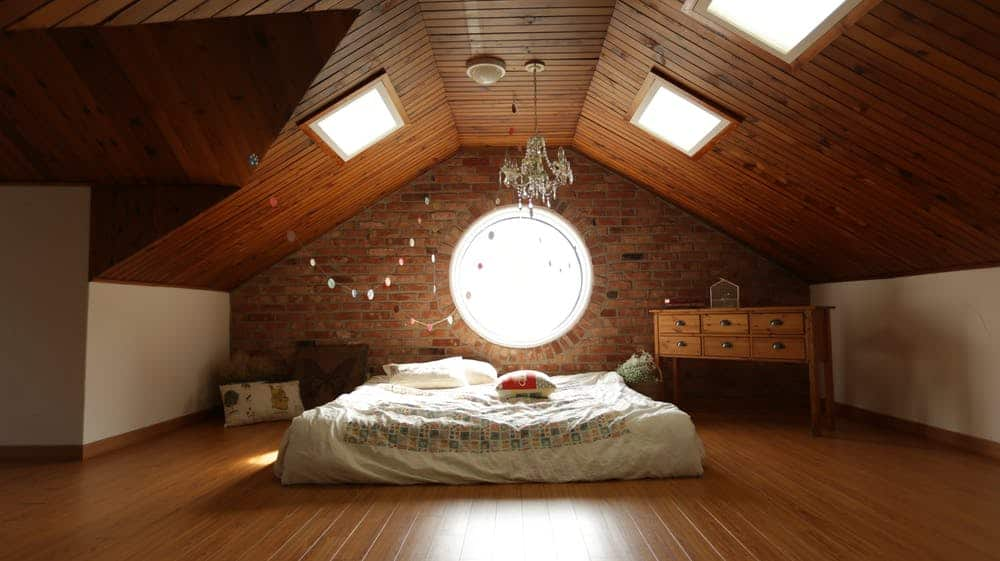 Wooden Accent in False Ceiling Interior
