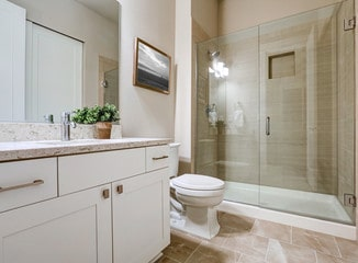 Transitional bathroom style