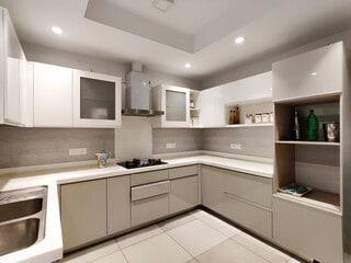 Modular Kitchen In minimalist interior design